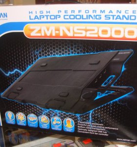 Подставки охлаждения для ноутбуков zalman
