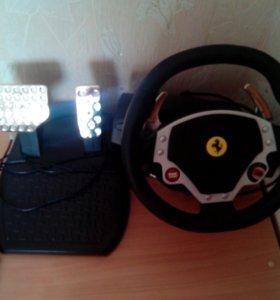 Руль игровой Ferrari F430 force feedback