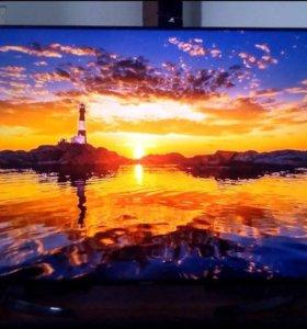 "Телевизор Sharp диагональ 60"" 152 см на гарантии"