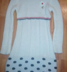 Платье теплое  на девочку
