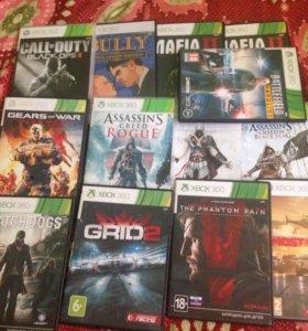 Продам или обменяю диски на Xbox 360