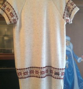 Новое шерстяное платье 152