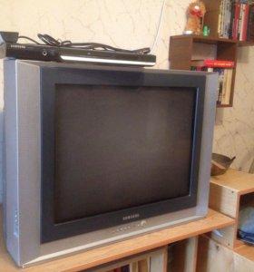 Телевизор Samsung + DVD