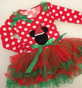 Новогоднее платье новое