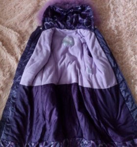 Пальто зимнее для девочки Шалуны