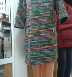 Новые туники платья яркие