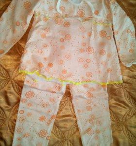 Пижамы флонелевые новые