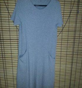 платье трикотажное.стильное