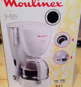 Кофеварка Moulinex Solea новая