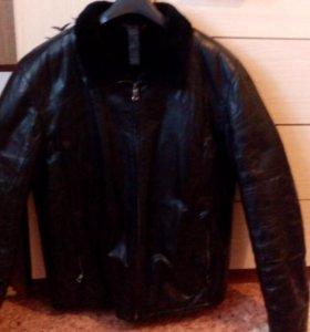 Куртка зимняя натур.кожа