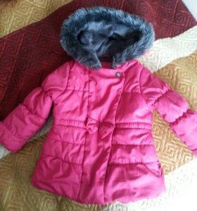Куртка зима на 2-3 года