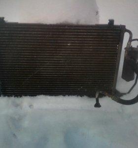Радиатор кондиционера пежо 206