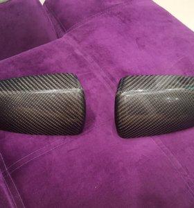 Накладки на зеркала заднего вида bmw x6
