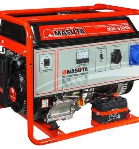 Генератор бензиновый Masuta ММ-6500E, 6.5 кВт.