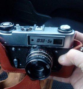Реритет фотоапарат  ФЕД 5в