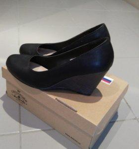 Туфли натуральная кожа 36,5 размер