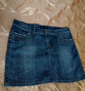 Юбка джинсов,