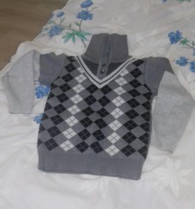 Детский свитер. Зимний. Тёплый