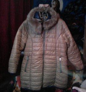 Куртка на сентипоне,теплая 60,62