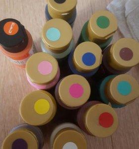 Краски для китайской росписи и не только