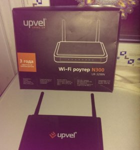 Wi-fi роутер upvel ur-329bn