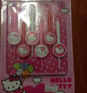 Свечки (Hello Kitty )