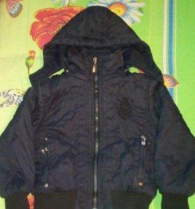 Курточка на весну для мальчика