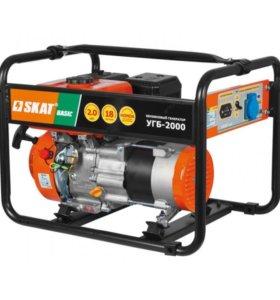 Генератор бензиновый SKAT УГБ-2000 Basic, 2200 Вт.