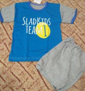 Новые комплекты футболка+шорты