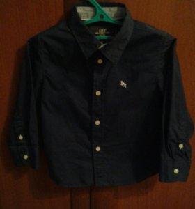 Рубашка ф.Н&М , р.98