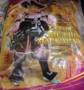 Карнавальный костюм пират на девочку пиратка