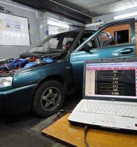 Компьютерная диагностика инжекторных двигателей