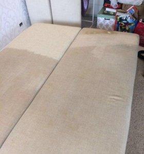 Химчистка мягкой мебели и ковров на дому