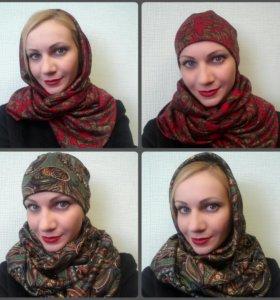 Снуд шарф шапка аксессуар
