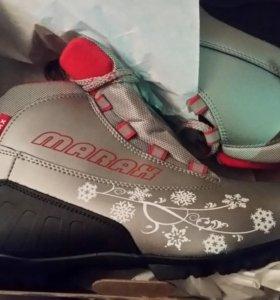 Новые женские лыжные ботинки 41
