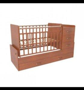 Кровать трансфер детская