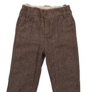 Шерстяные брюки для мальчика, рост 92