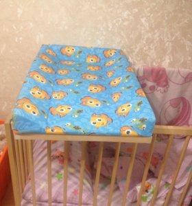 Пеленальня на кроватку