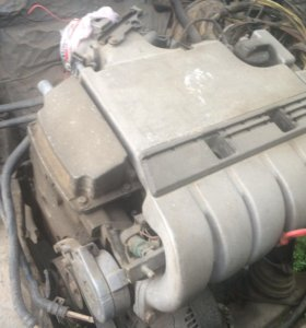 Двигатель+коробка vr6 b3