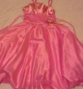 Новогоднее пышное  платье для девочки.Торг от6-10