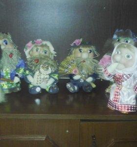 Куклы ручной работы.в наличии и на заказ.