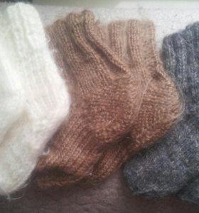 Шерстяные носочки. Носки. Пинетки