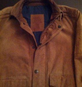 Замшевая куртка H.E.by Mango