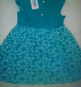 Трикотажные платья на девочку