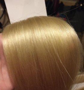 Волосы для ленточного наращивания.
