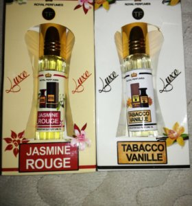 Jasmin Rouge и Tobacco Vanille от Tom Ford