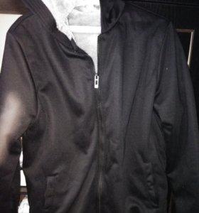 Куртка мужская теплая с капюшоном