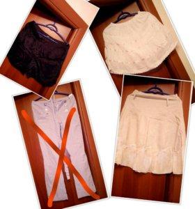 Платья, блузки, юбка