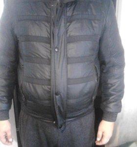 Мужская куртка болонь весна осень 48-50