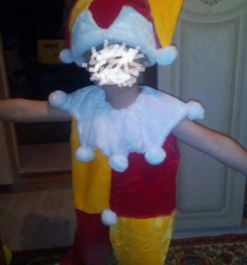 Новогодний костюм петрушка